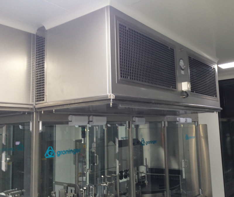 Laminar Flow Units with FFUs